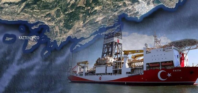 Το τουρκικό γεωτρύπανο Πορθητής πανέτοιμο για δράση  στα ανοιχτά της Κύπρου