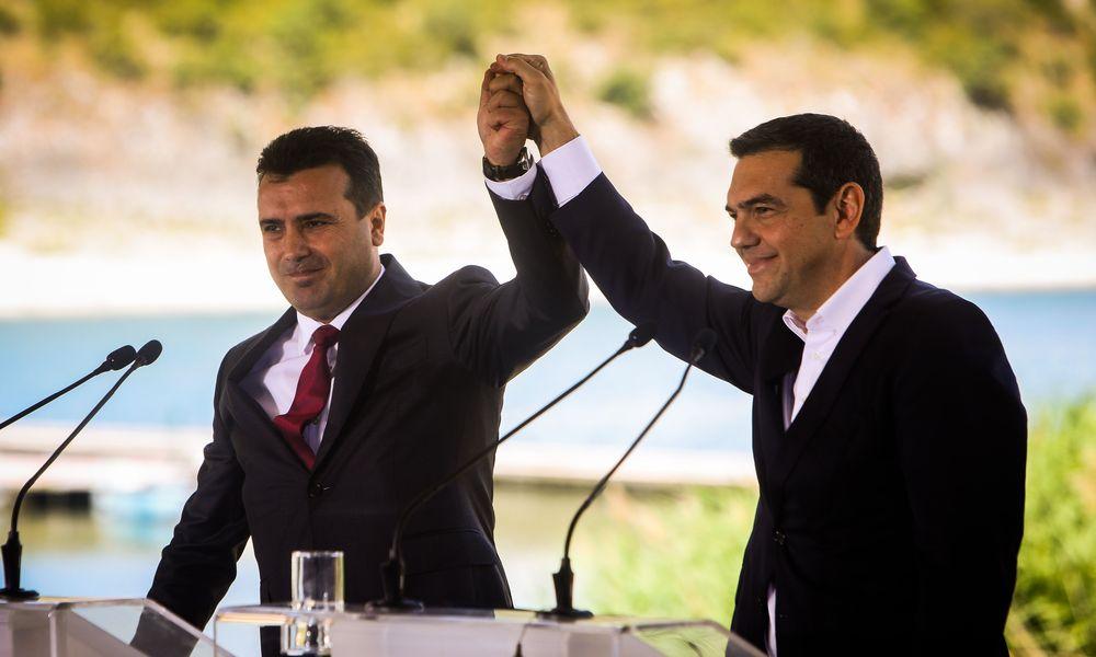 """Υποψήφιοι για """"Νομπέλ Ειρήνης"""" και επίσημα Αλέξης Τσίπρας και Ζόραν Ζάεφ"""