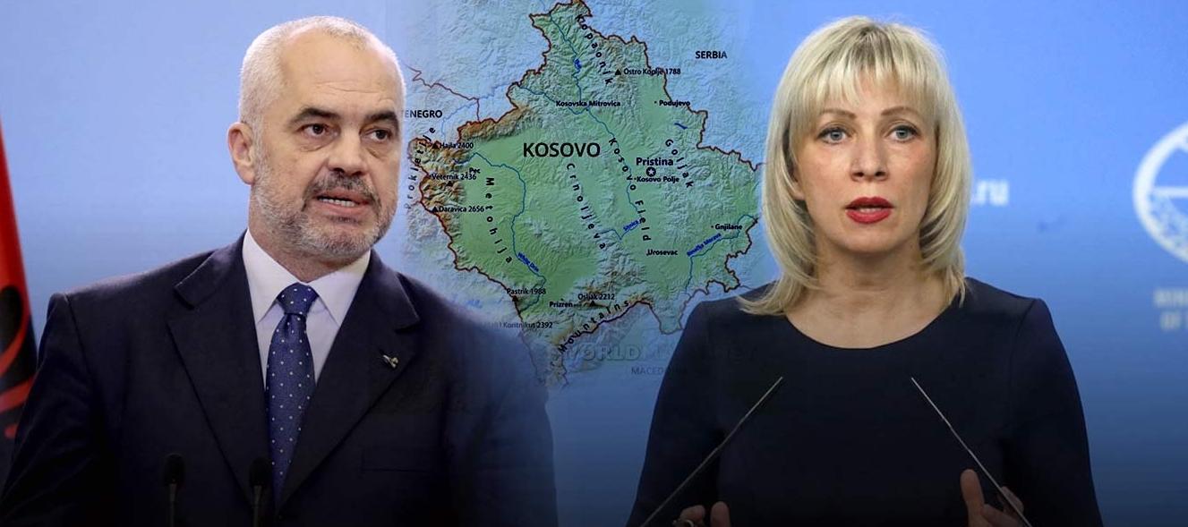 Μόσχα: «Απαράδεκτη η δήλωση του Έντι Ράμα για Μεγάλη Αλβανία»