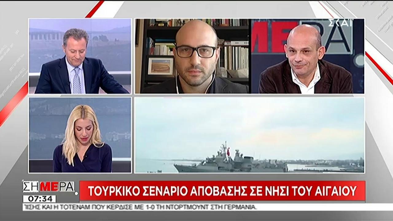 Ο Π. Καρβουνόπουλος για το σενάριο απόβασης σε τουρκική στρατιωτική άσκηση