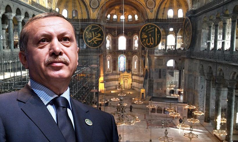 Ρ.Τ. Ερντογάν: «Αμέσως μετά τις εκλογές η Αγιά Σοφιά θα γίνει Τζαμί» (Vid)