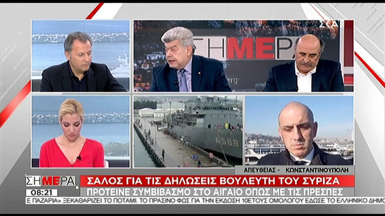 Ι. Μάζης & Π. Θεοδωρακίδης για τις δηλώσεις περί έντιμου συμβιβασμού στο Αιγαίο με τους Τούρκους (VIDEO)
