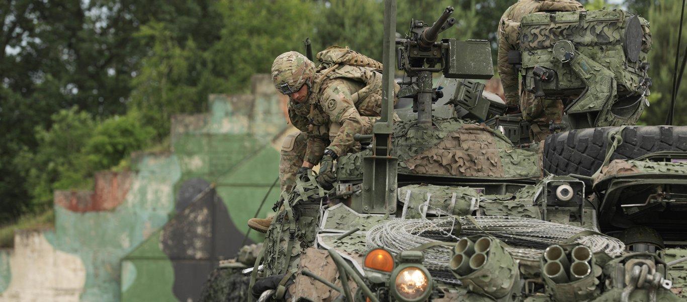 """""""Ξεκινάει η μεγαλύτερη διεθνής άσκηση του ΝΑΤΟ στα Σκόπια"""""""