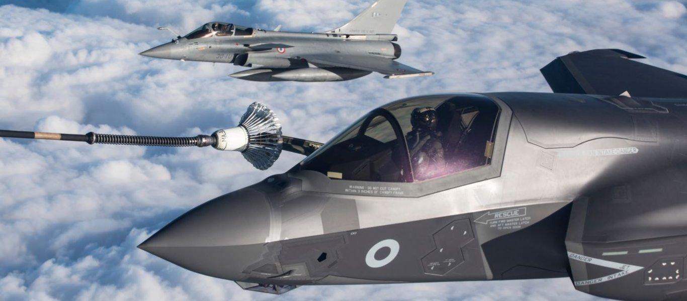 «Η Μεγάλη Βρετανία εγκαθιστά πολεμικά αεροσκάφη F-35B στη βάση του Ακρωτηρίου της Κύπρου»