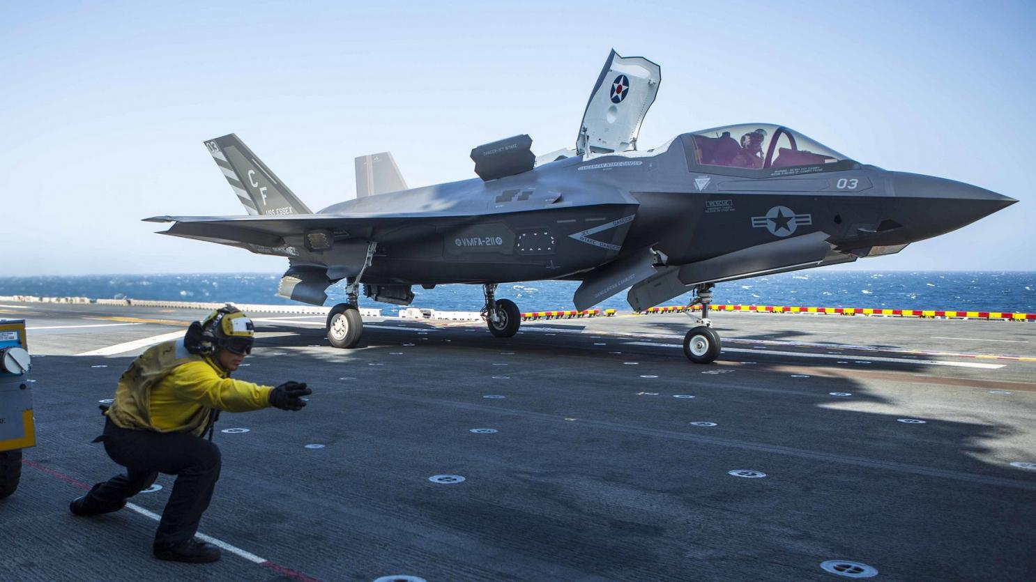 «Παγώνει» η Ουάσινγκτον τις παραδόσεις εξοπλισμού των F-35 στην Άγκυρα