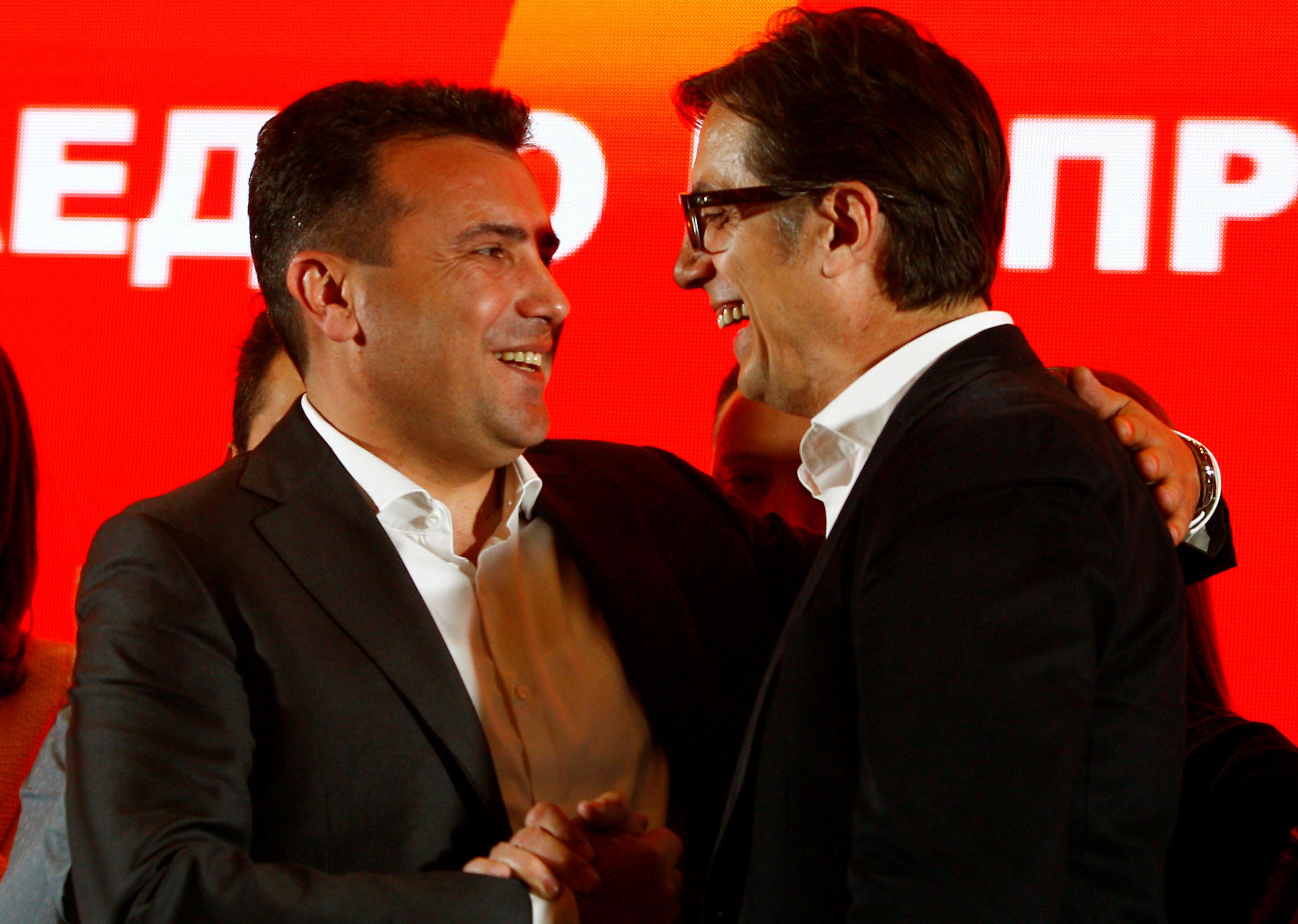 Νικητής των εκλογών του πρώτου γύρου της «Βόρειας Μακεδονίας» ο εκλεκτός του Ζ. Ζάεφ, Στέβο Πεντάροφσκι