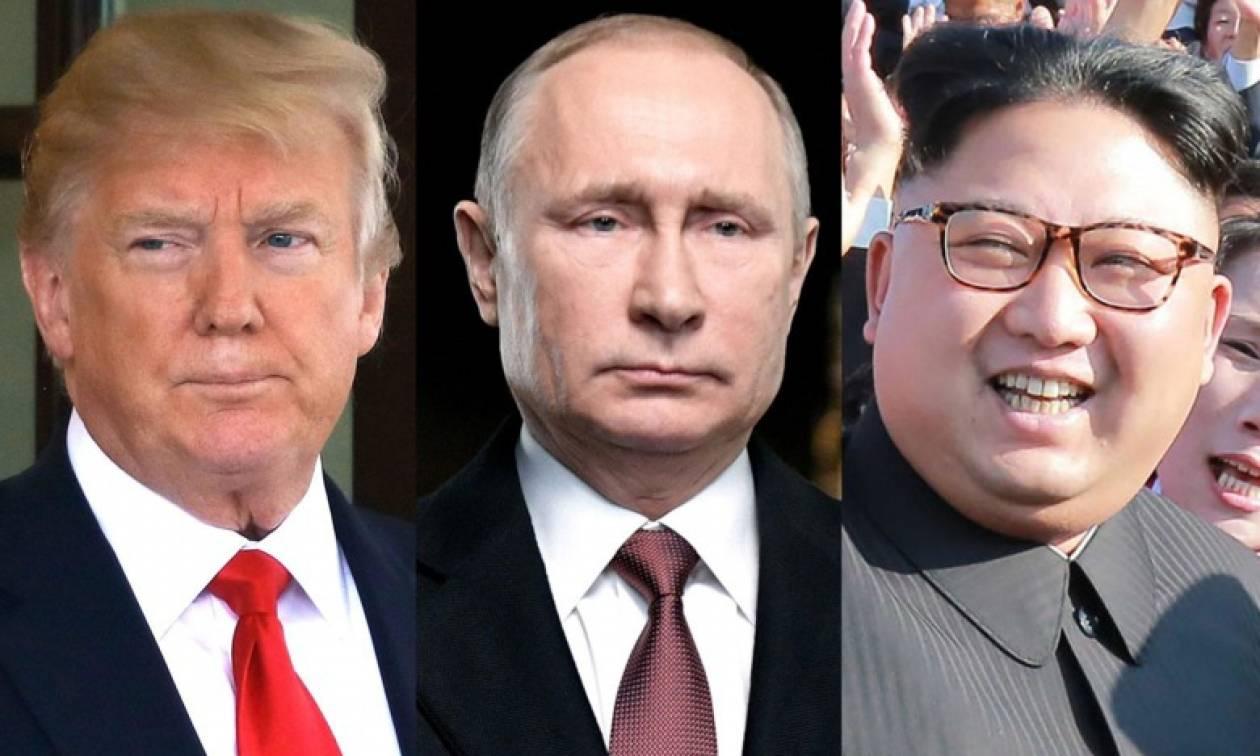 Κιμ Γιόνγκ Ουν προς Πούτιν: «Είμαι έτοιμος να συνεργαστώ στενά μαζί σου»
