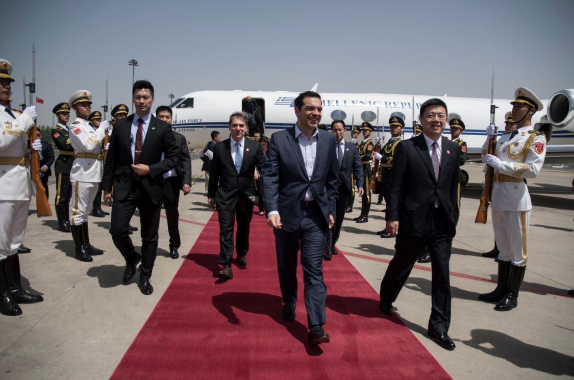 Ο Αλέξης Τσίπρας στο Πεκίνο για «το Δρόμο του Μεταξιού»