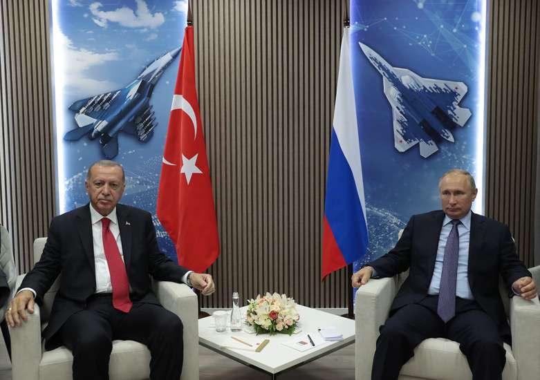 Ερντογάν: «Δεν αποκλείουμε την αγορά ρωσικών μαχητικών Σουχόι»