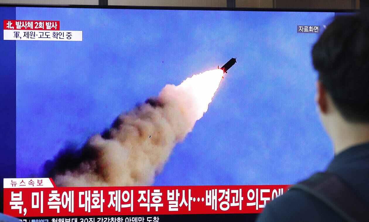 """Διεθνή Νέα: """"Η Βόρεια Κορέα εκτόξευσε πύραυλο προς την Ιαπωνία"""""""