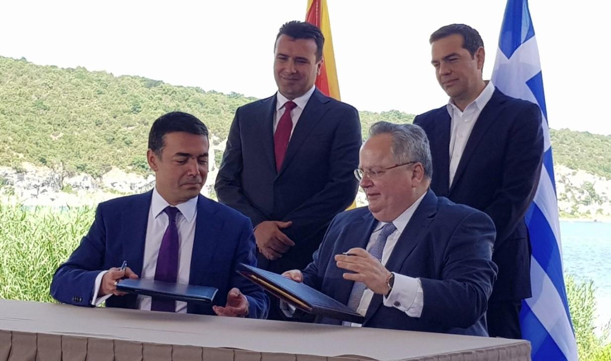 Ν. Κοτζιάς: «Είδα μια ονειρεμένη εικόνα, τα ελληνικά F-16 πάνω από τα Σκόπια»