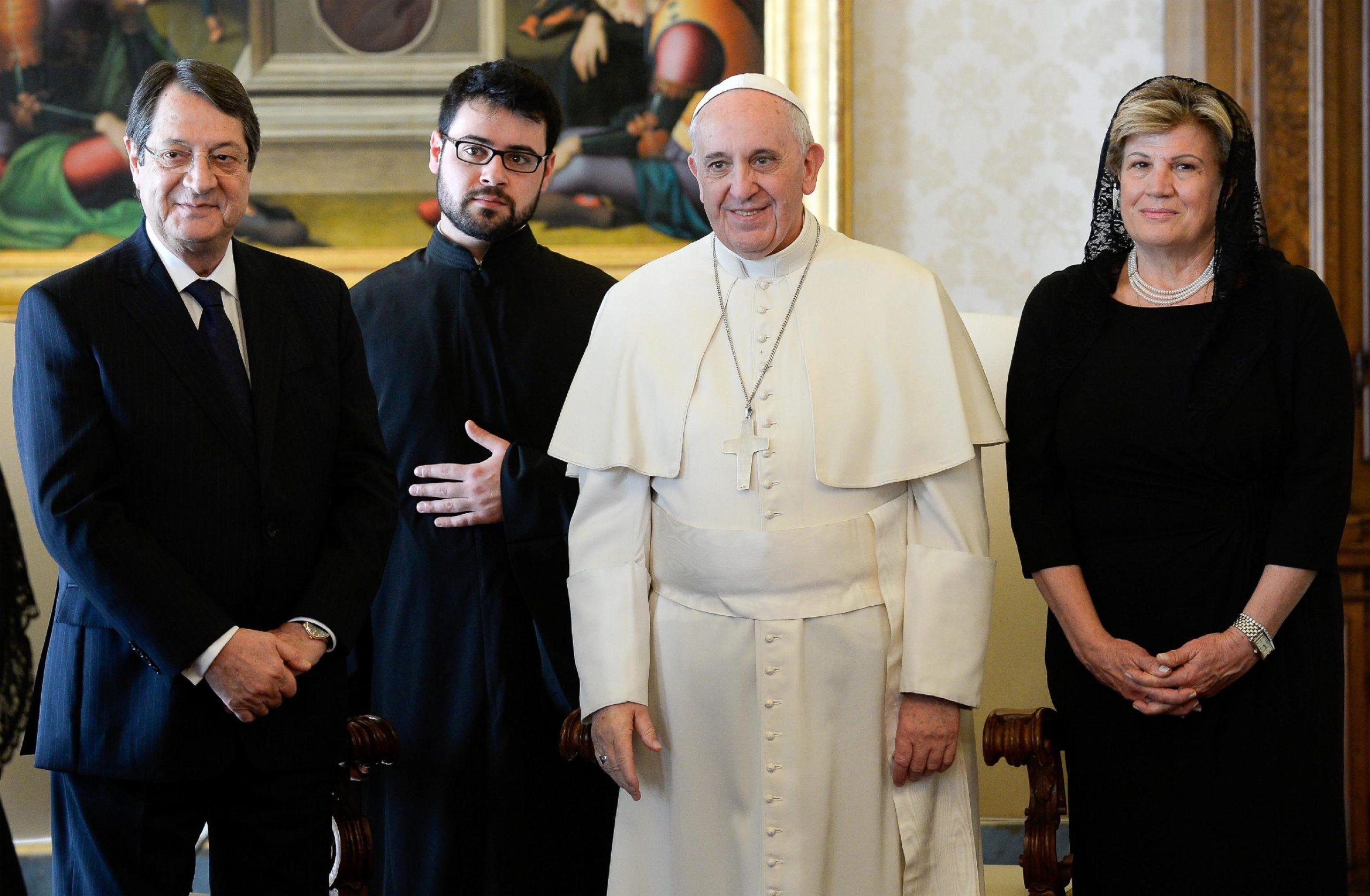 Επίσημη επίσκεψη Ν. Αναστασιάδη & Πάπα Φραγκίσκου με φόντο το «Κυπριακό»