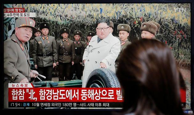 Ο Κιμ Γιόνγκ Ουν «ξαναχτυπά»: Εκτόξευσε  βλήματα άγνωστης ταυτότητας