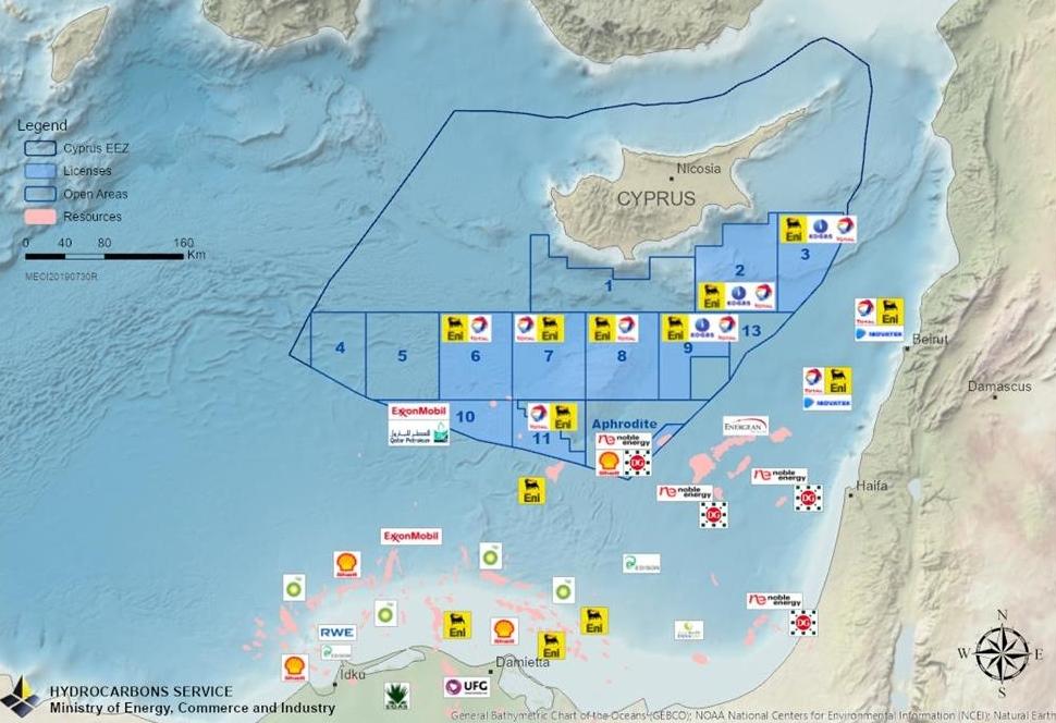 """ΕΝΕΡΓΕΙΑ: """"Γιατί η κυπριακή ΑΟΖ αναμένεται να πάρει «φωτιά» το 2020…"""""""