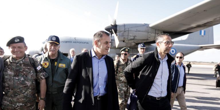 ΥΠΑΜ Παναγιωτόπουλος: Η «ΜΕΔΟΥΣΑ 9» αποδεικνύει την ισχυρή θέληση για κοινή πορεία Ελλάδας – Αιγύπτου – Κύπρου