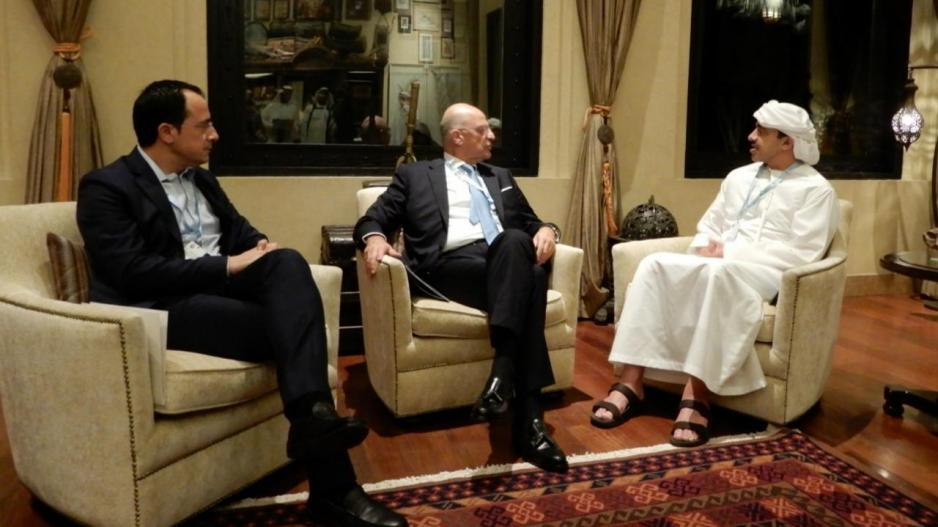 """""""Ενισχύουν τη συνεργασία τους Ηνωμένα Αραβικά Εμιράτα – Κύπρος & Ελλάδα στο Αμπου Ντάμπι…"""""""