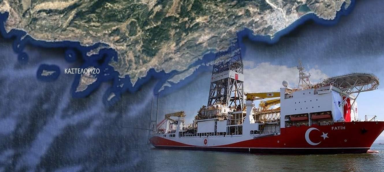 """Απτόητοι οι Τούρκοι: Έρχεται τρίτο γεωτρύπανο στην Aν. Μεσόγειο…; Τι αναφέρει η τουρκική εφημερίδα """"Γενί Σαφάκ"""""""