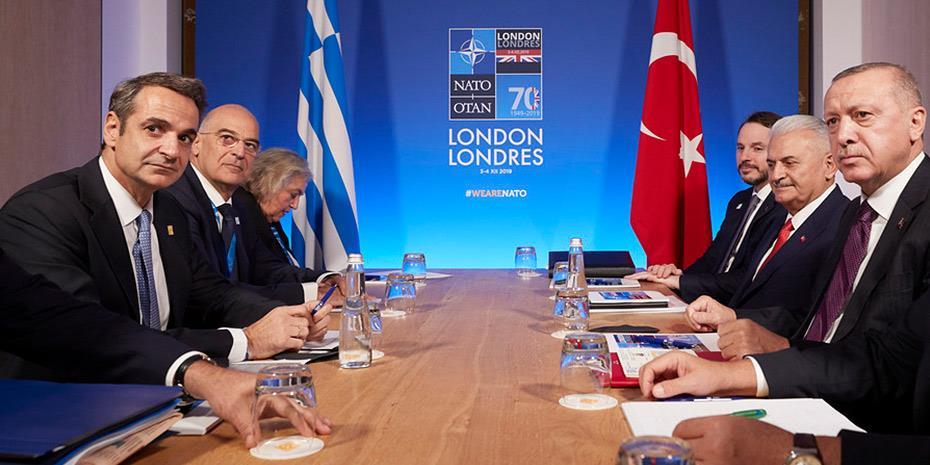 """Μητσοτάκης στην Bild: """"Δεν φοβάμαι θερμό επεισόδιο με τους Τούρκους"""""""