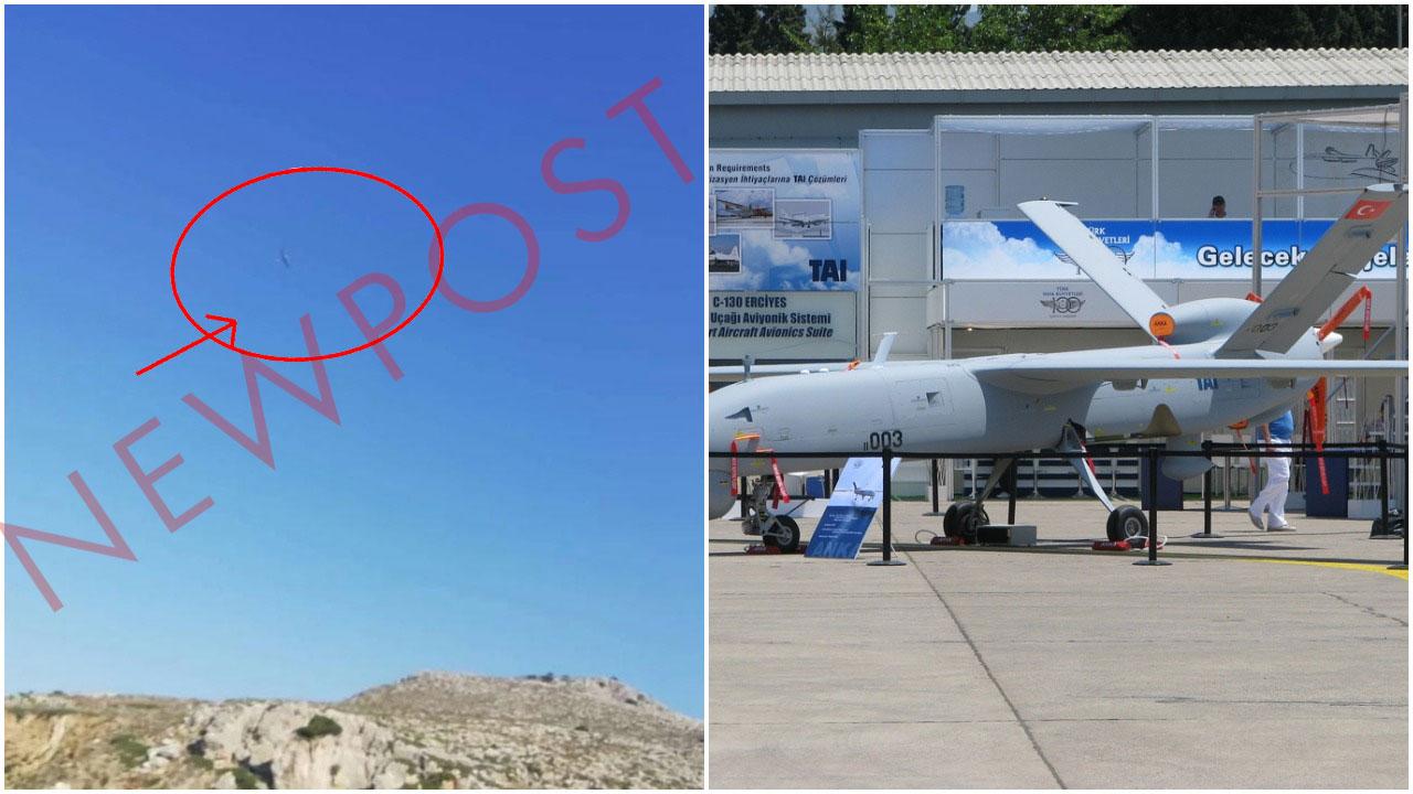 Ντοκουμέντο: Αυτά είναι τα Τούρκικα Drone πάνω από το Αιγαίο-Μαρτυρίες: «Το drone πετούσε πάνω από το νησί» (Pics)
