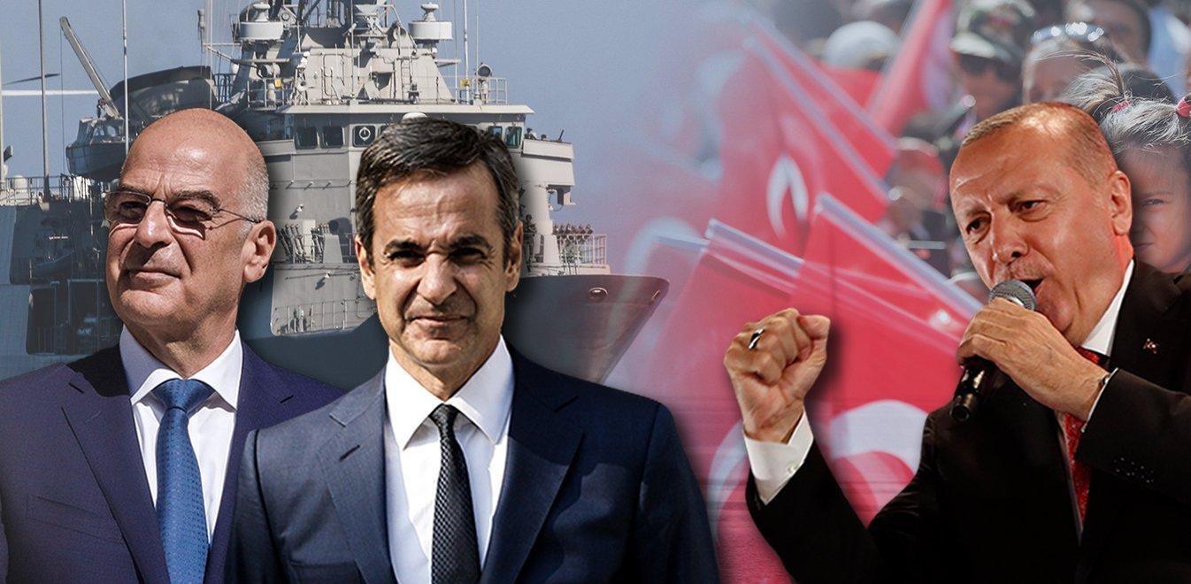 Τα γεγονότα τρέχουν – Διπλωματικός «πυρετός» επικρατεί στην Αθήνα για τα ελληνοτουρκικά