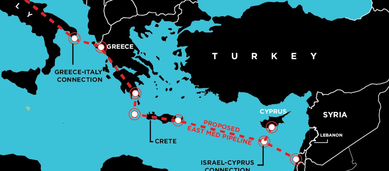 """""""Δίνουν τα χέρια"""" για τον East Med Ελλάδα, Κύπρος, Ιταλία και Ισραήλ – Εξελίξεις στην Αν. Μεσόγειο"""