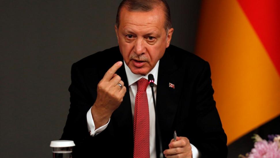 """Ερντογάν: """"Και να μου έδιναν το Νόμπελ Ειρήνης, δεν θα το έπαιρνα"""""""