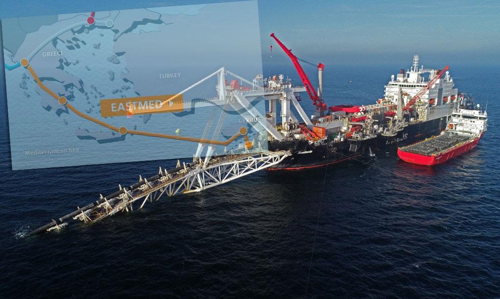 Α. Μεσόγειος: Γεωπολιτικό «πόκερ» για την ενέργεια – Το κοινό μέτωπο κατά της Άγκυρας – H σημασία του αγωγού EastMed