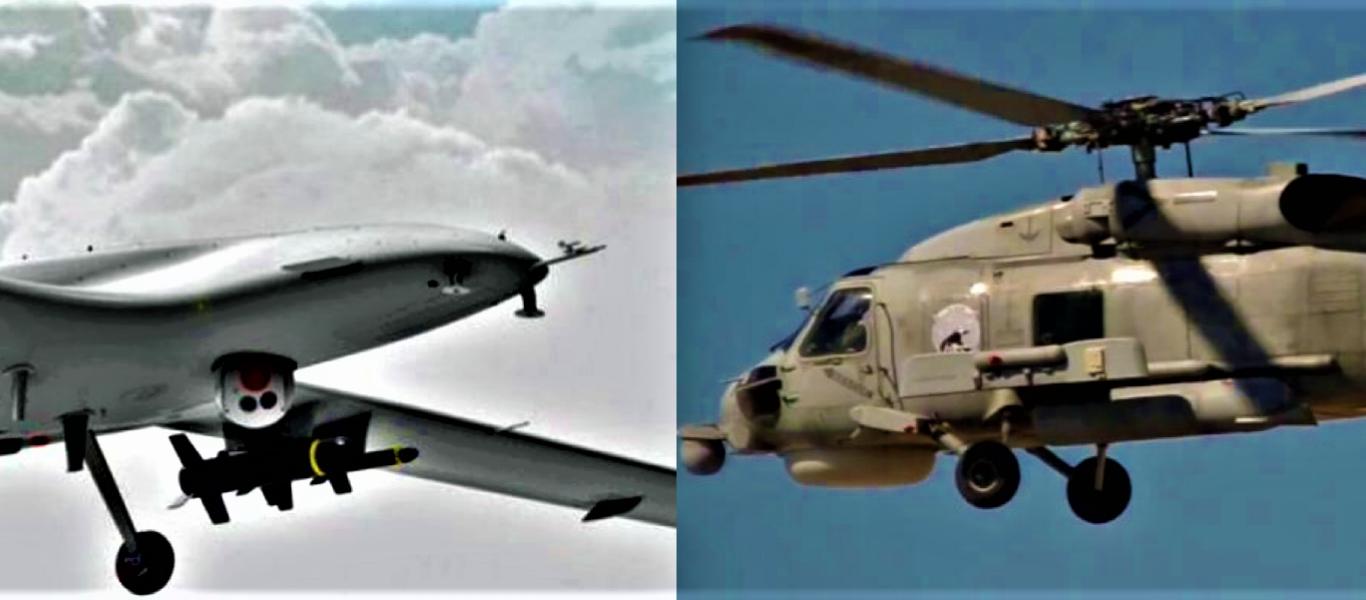 Τουρκικά drone Vs ελικοπτέρου S-70 Seahawk του ΠΝ στα ανοικτά της… Θεσσαλίας! – Η πρώτη «αερομαχία» της νέας εποχής