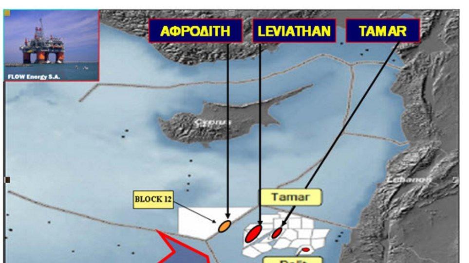 """Το ισραηλινό """"Λεβιάθαν"""" μπαίνει σε φάση παραγωγής φυσικού αερίου"""