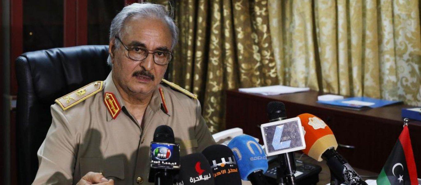 Στην Αθήνα βρίσκεται ο Στρατάρχης Χαλίφα Χαφτάρ – Η Αθήνα θα αναγνωρίσει την κυβέρνησή του..;