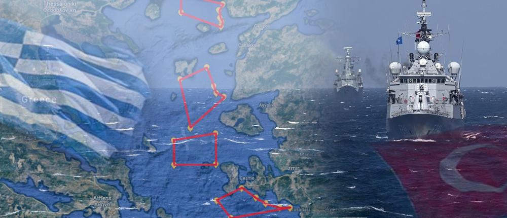 """""""Διπλωματική Δράση"""" αναλαμβάνουν οι ΗΠΑ για το ζήτημα των """"θαλασσίων ζωνών"""" μεταξύ Ελλάδος-Τουρκίας..;"""