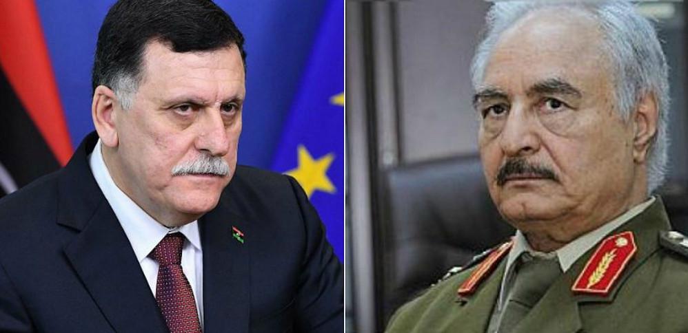 """Χ. Χαφτάρ & Φαγιέζ Αλ Σαράτζ υπογράφουν συμφωνία""""εκεχειρίας"""" στη Μόσχα – Οι Λίβυοι γυρίζουν σελίδα..;"""