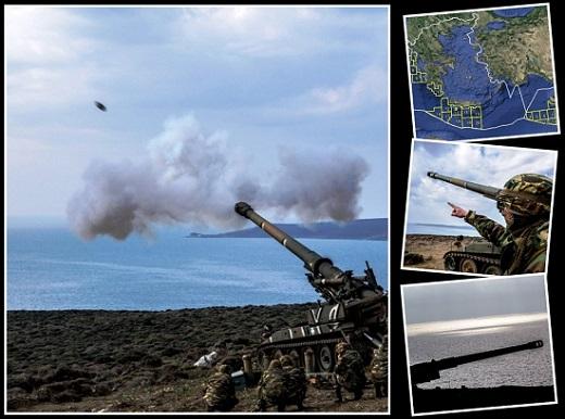 """Κ. Γρίβας: """"Πλατφόρμες εκτόξευσης στις βραχονησίδες της Ελλάδας, θα δημιουργήσουν απροσπέλαστο αμυντικό πλέγμα απέναντι στην Τουρκία"""" (Vid)"""