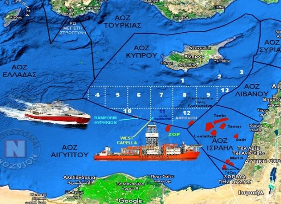 """Οι """"επόμενες"""" κινήσεις της Άγκυρας στα θαλάσσια οικόπεδα Ελλάδας & Κυπριακής Δημοκρατίας"""