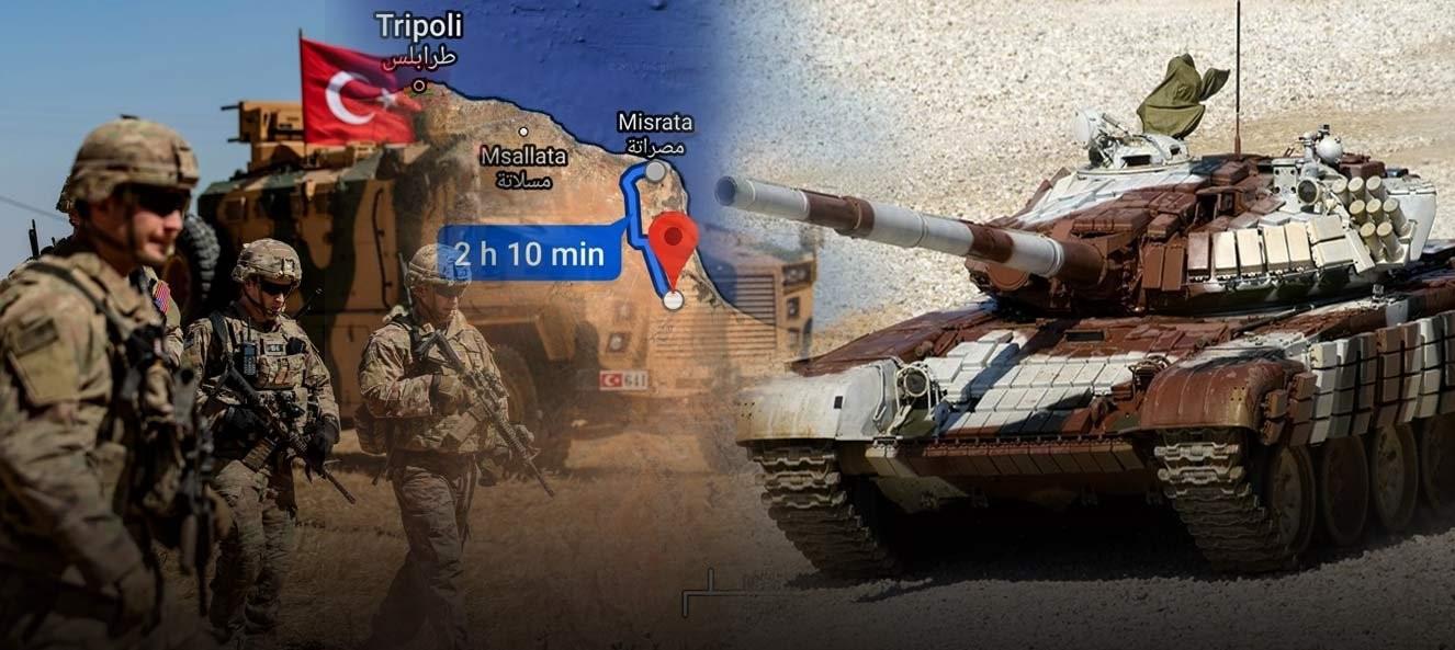 """Μόλις """"130 χιλιόμετρα"""" χωρίζουν τις δυνάμεις του στρατάρχη Χ. Χαφτάρ από τα τουρκικά στρατεύματα"""