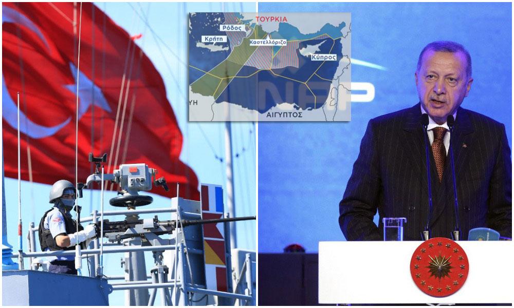 """Ρ.Τ. Ερντογάν: """"Είμαστε σε διαπραγματεύσεις με τους Ιταλούς για γεωτρήσεις στη Λιβύη.."""""""