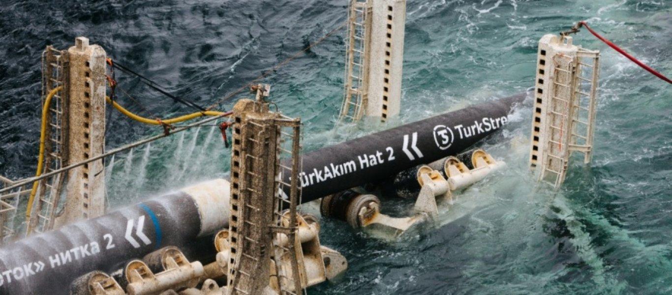 """Ενεργειακός κόμβος η Τουρκία: Σε ισχύ ο αγωγός φυσικού αερίου """"TurkStream"""""""
