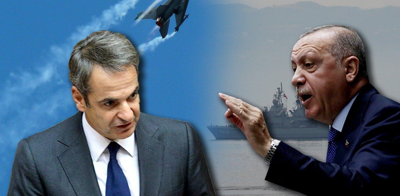"""Νέα Δημοσκόπηση: """"Θερμό Επεισόδιο"""" με την Τουρκία φοβούνται οι Έλληνες στους επόμενους 12 μήνες"""