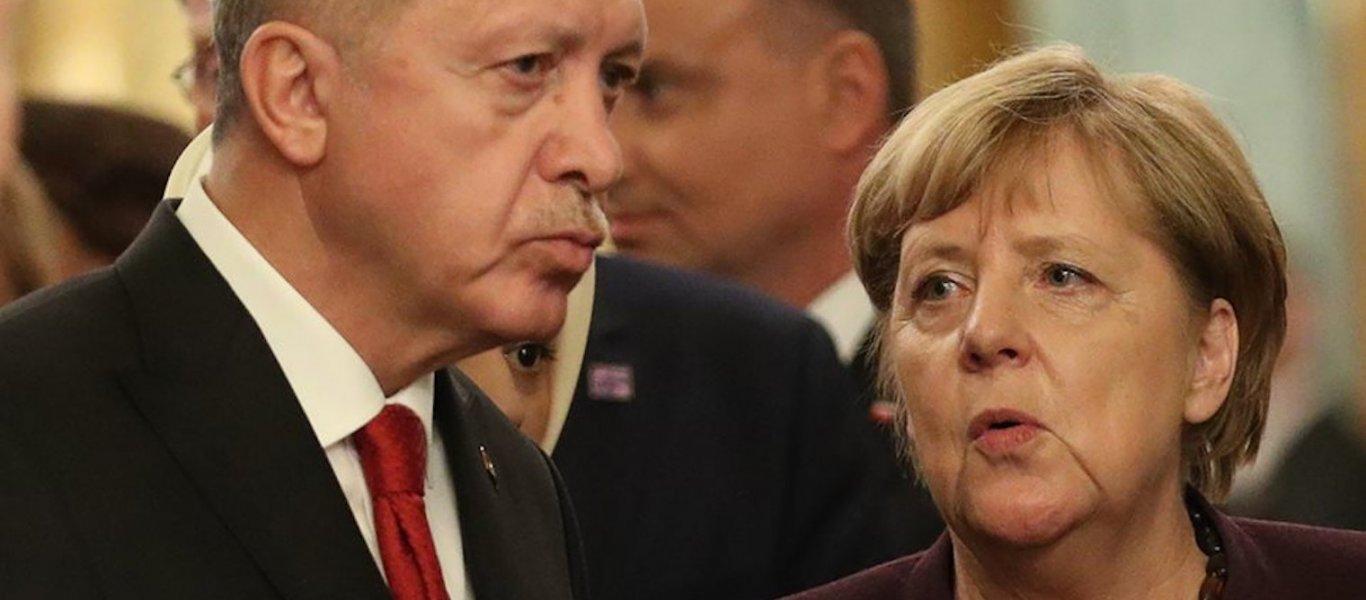 """""""Αιφνιδιαστικό"""" ταξίδι Ερντογάν στην Μέρκελ – Θα ζητήσει τη στήριξή της για το Μνημόνιο Τουρκίας-Λιβύης για τις θαλάσσιες ζώνες..;"""