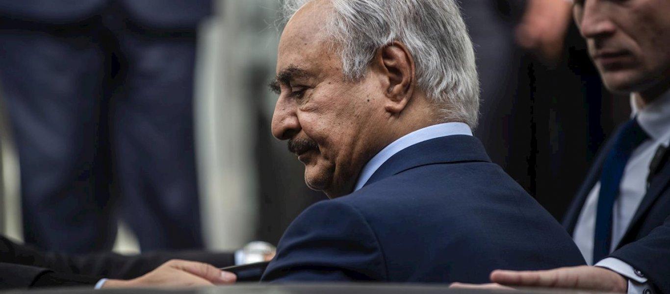 """Χ. Χαφτάρ: """"Εγκληματίας η Τουρκία, γράφει ιστορία η Ελλάδα.."""""""