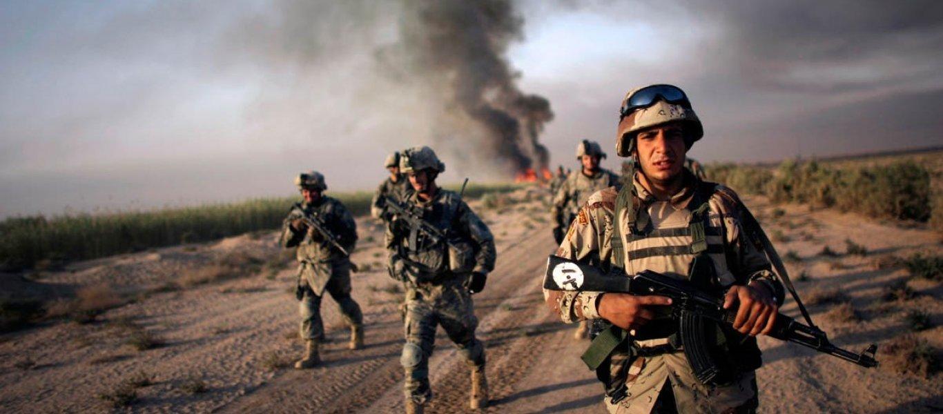 """Ξεκίνησε η """"προσωρινή απόσυρση"""" Γερμανών στρατιωτών από τη Βαγδάτη"""