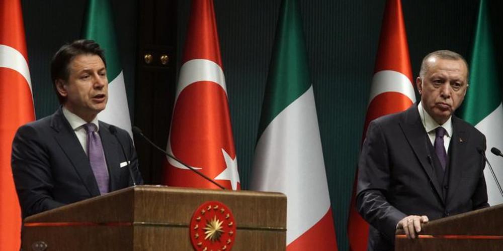"""Ιταλία: """"Δεν υπάρχουν υπόγειες διαπραγματεύσεις με την Τουρκία για συνεκμετάλλευση του πετρελαίου στη Λιβύη.."""""""