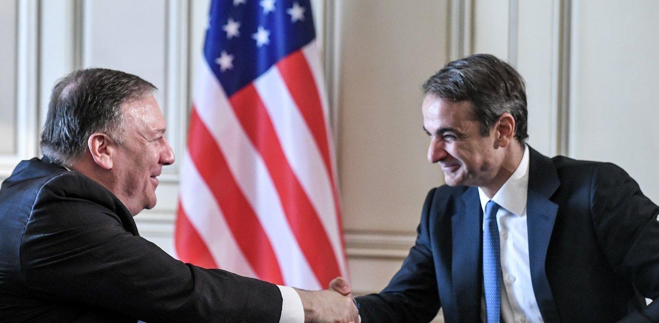 """Η επιστολή του Μ. Πομπέο στον Κ. Μητσοτάκη: """"Σύμμαχος-κλειδί η Αθήνα στην Αν. Μεσόγειο & τα Βαλκάνια"""""""