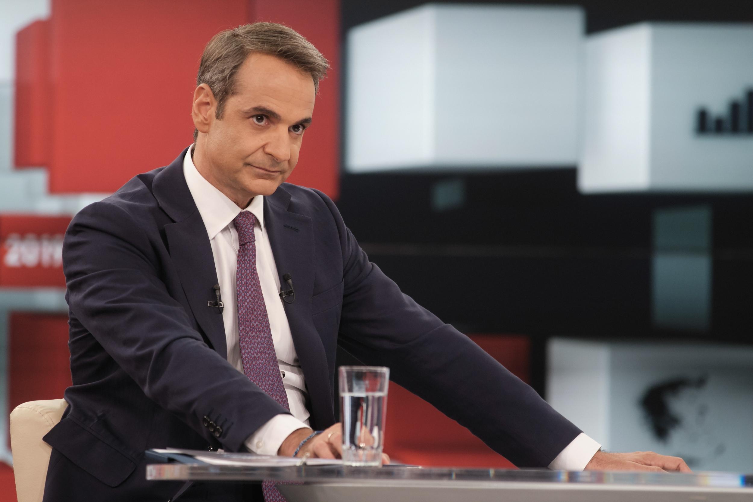 """Κάλεσμα Μητσοτάκη προς Ερντογάν για """"εξομάλυνση"""" των ελληνοτουρκικών σχέσεων σε Αιγαίο & Αν. Μεσόγειο"""