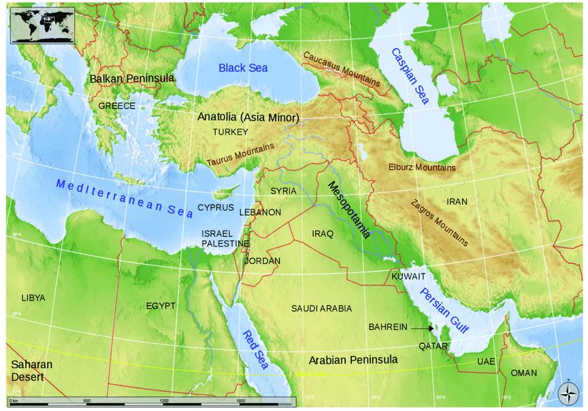"""Ισραηλινός Αναλυτής: """"Το φυσικό αέριο της Μεσογείου αιτία μελλοντικού πολέμου στη Μ. Ανατολή.."""""""