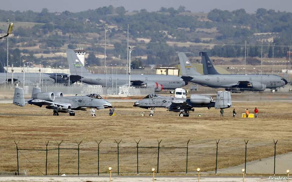Κλείνουν σταδιακά τη βάση του Ιντσιρλίκ στην Τουρκία. Τί σχεδιάζουν οι Αμερικανοί..;