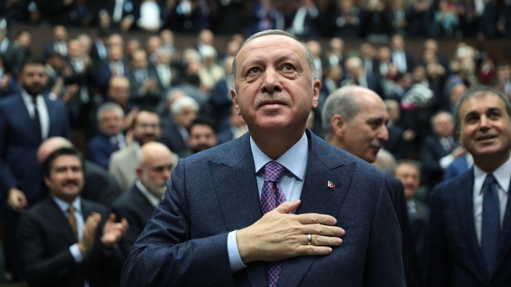 """Ρ.Τ. Ερντογάν: """"Κανείς δεν θα περιορίσει την Τουρκία στα σύνορά της.."""""""