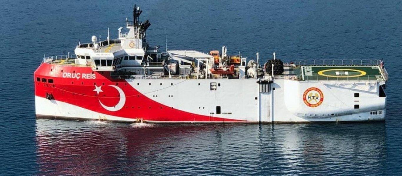 Επιστρέφει το Oruc Reis για έρευνες υδρογονανθράκων στην Κρήτη..;