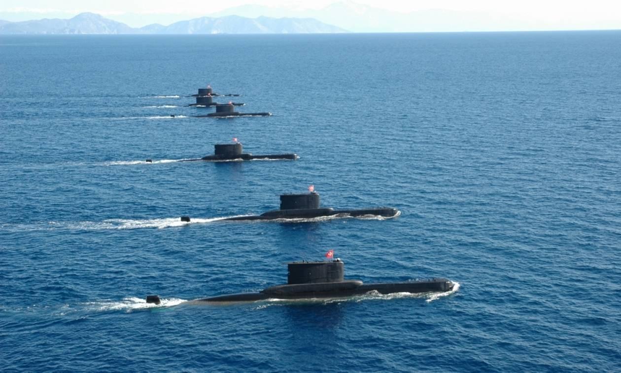 """Οι Τούρκοι θα επιχειρήσουν να """"αποκλείσουν"""" με υποβρύχια όλο το Αιγαίο; (Vid)"""