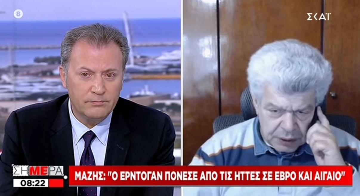 """Ι. Μάζης: """"Ο Ερντογάν διεξάγει βιολογικό πόλεμο εναντίον μας – Τον «πόνεσε» πολύ ο Έβρος.."""""""